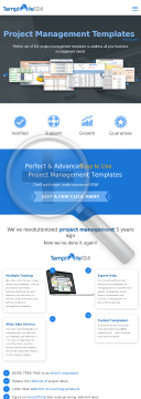 Project Management & Business Templates - For Successful Business preview. Click for more details