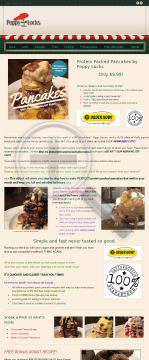 Protein Packed Pancakes By Poppy Locks preview. Click for more details