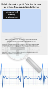 Protocole Contre Hypertension - French Blood Pressure Protocol preview. Click for more details