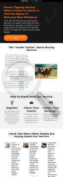 Proven Horse Racing Tipping Service - Huge Epcs preview. Click for more details