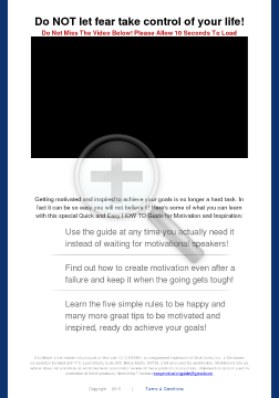 Quick And Easy How To Guide For Motivation And Inspiration preview. Click for more details