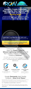 Rapid Content Wizard - Amazing Epcs, Awesome Commissions... preview. Click for more details