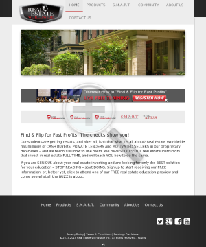 Real Estate Lead Generation System preview. Click for more details