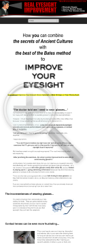 Real Eyesight Improvement preview. Click for more details