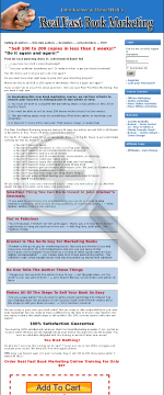 Real Fast Book Marketing - Affiliate Tools preview. Click for more details