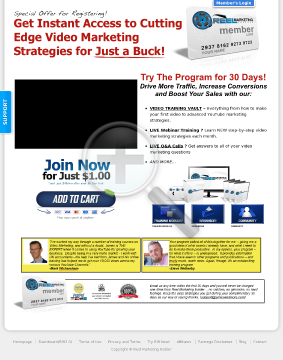 Reel Marketing Insider-#1 Video Marketing Training - 50% Recurring! preview. Click for more details