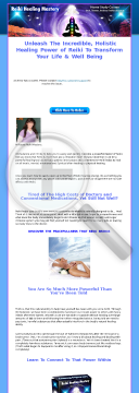 Reiki Healing Mastery preview. Click for more details