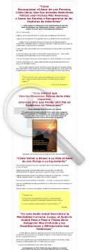 Relationship Recovery Audio Session (spanish): MP3 Audio preview. Click for more details