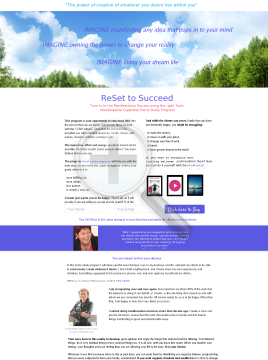 Reset To Succeed With Manifestation Superstar Program preview. Click for more details