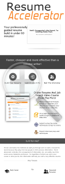 Resume Accelerator Video Course preview. Click for more details