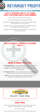 Retarget Profits - Turn Lost Visitors Into Profits preview. Click for more details