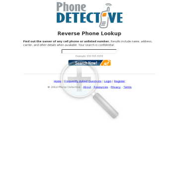 Reverse Phone Lookup, Phonedetective.com, 75% + Trial Bounty preview. Click for more details