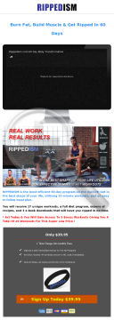 Rippedism Get Ripped Workout Program preview. Click for more details