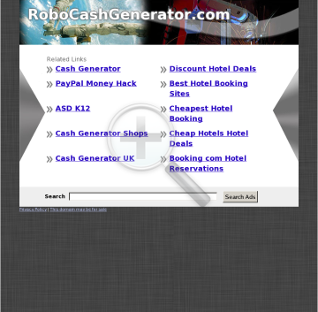 Robo Cash Generator - Brand New Affiliate Software And Plug-ins preview. Click for more details