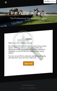 Ron Williams Racing preview. Click for more details