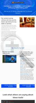 Roulette Calculators - New To CB 2021 preview. Click for more details