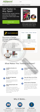 Run Faster In Any Sport In Days! preview. Click for more details
