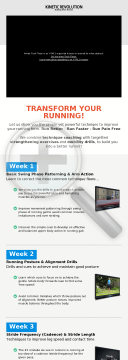 Running Technique Course - Top Affiliates Earn $120+ Daily preview. Click for more details