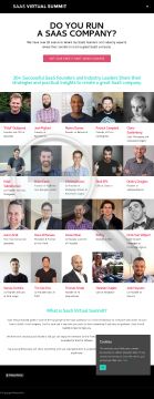 Saas Virtual Summit preview. Click for more details