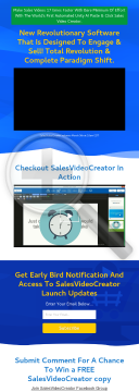 Salesvideocreator #1 App For Making Sales Videos preview. Click for more details