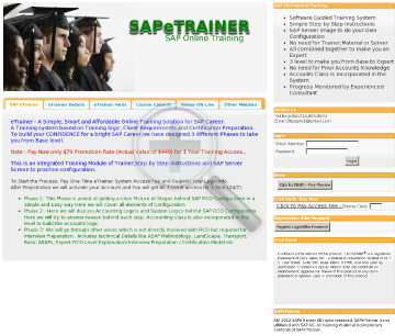 Sap Fico Training Online Ttaining preview. Click for more details