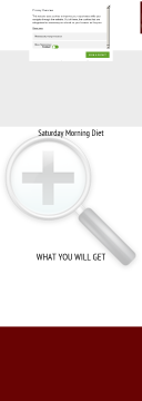 Saturday Morning Diet And Ecourses preview. Click for more details