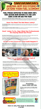 Save 1200$ On Fuel In 10 Simple Steps preview. Click for more details