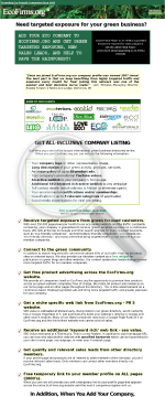 Save Trees And Get Paid !!! - Ecofirms.org preview. Click for more details
