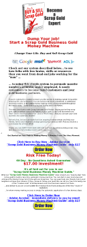 Scrap Gold Business-make Huge Profits preview. Click for more details