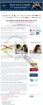Secret G.e.d. Loophole. Graduate Today Without Ever Leaving Home! preview. Click for more details