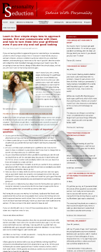 Seduce With Personality - The Four Step System To Success With Women preview. Click for more details
