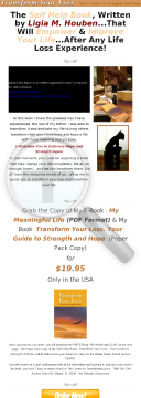 Self Help Book: Transform Your Loss. Your Guide To Strength & Hope preview. Click for more details
