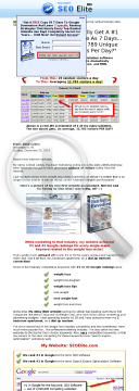 Seo Elite: New Seo Software! preview. Click for more details