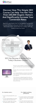 SEO Mastery Course preview. Click for more details
