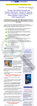 SEO Mindset By Brad Callen - Get Top, Long-lasting Google Rankings preview. Click for more details