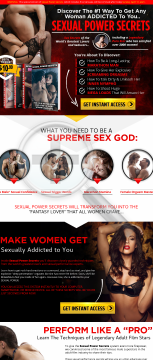 Sexual Power Secrets preview. Click for more details