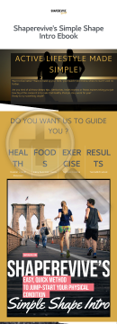 Shaperevive's Simple Shape Intro Guide To A Healthy Lifestyle preview. Click for more details