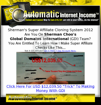 Sherman Choos 6 Figure Income Aiis Formula preview. Click for more details