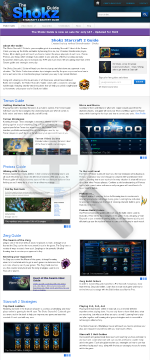 Shokz Starcraft 2 Mastery Guide & Video Guide - Hots preview. Click for more details