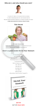 Shrink Your Stomach In 4 Weeks! High Converting Written Page preview. Click for more details