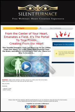 Silent Furnace - Heart Creation Supernova preview. Click for more details