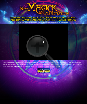 Simple Spell Casting E-kit & Upsell - Pays 75% - Video Doubles Sales! preview. Click for more details