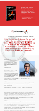 Sistema De Marketing Para Pymes - 70% Comision preview. Click for more details