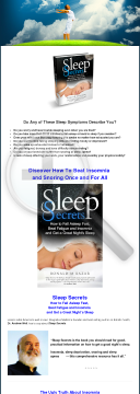 Sleep Secrets - How To Fall Asleep Fast, Beat Fatigue And Insomnia preview. Click for more details