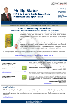 Smart Inventory Solutions (second Edition preview. Click for more details