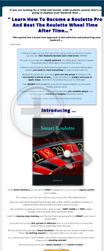 Smart Roulette - Brand New Winning Strategy preview. Click for more details