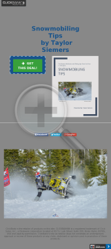 Snowmobiling Tips preview. Click for more details