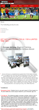 Soccer Strong: Training, Nutrition, And Mindset For Soccer Players preview. Click for more details