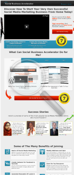Social Business Accelerator - Social Media Training & Software preview. Click for more details