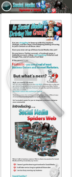 Social Media Spiders Web preview. Click for more details